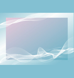 abstract banner background design line blend vector image