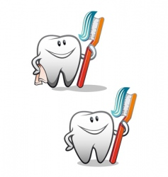 Clean teeth vector