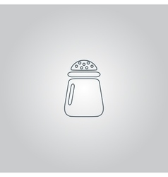Salt or pepper - icon isolated vector image