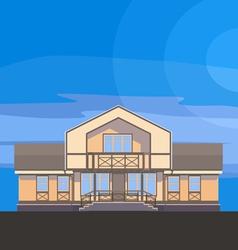 03 classical mansion v vector