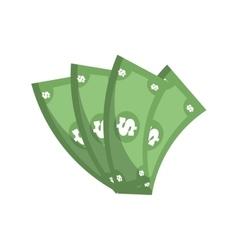 Money bills dollar cash vector
