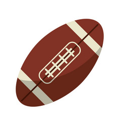 Ball american football icon vector