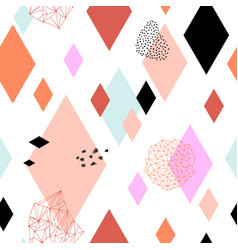Geometric funky seamless vector