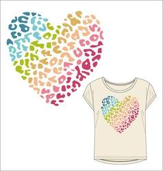 women tshirt print vector image
