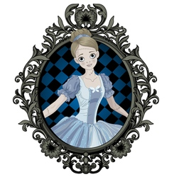 Halloween Cinderella vector image vector image