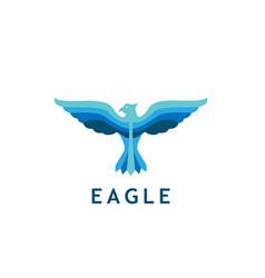 eagle body logo vector image