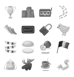 Fan education food and other web icon in vector