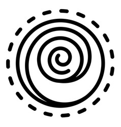 Hypnosis counseling icon outline style vector