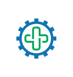 medical logo symbol icon concept vector image