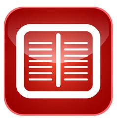 Notes app icon vector