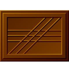 seamless chocolate bar vector image