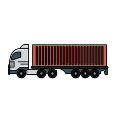 Truck icon image vector