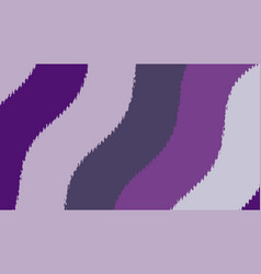 Ultraviolet background with wavy stripes vector
