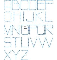 line font vector image