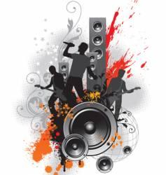 Rock band vector