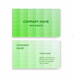 template business card vector image vector image
