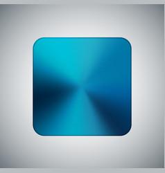 Blue metal realistic polygonal template highlight vector
