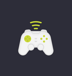 Gamepad wireless game controller vector