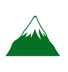 mount fuji japan landscape natural image vector image