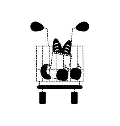 shopping cart icon image vector image vector image