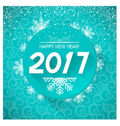 new year card background vector image vector image