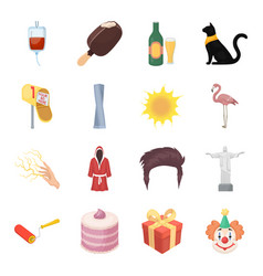 Alcohol history food and other web icon in vector