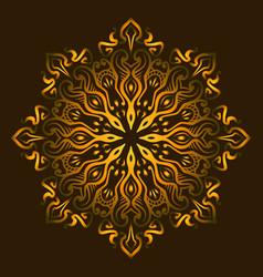 mandala c vector image