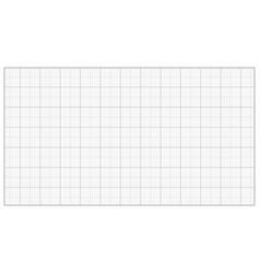 millimeter paper grey graphing paper for vector image