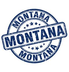 Montana stamp vector