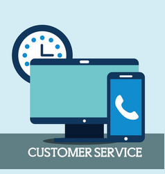 people customer service vector image