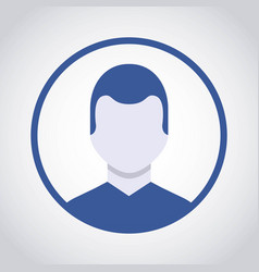 Person avatar user icon vector