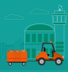 Transport and logistics vector