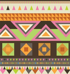Indian style carpet design vector image