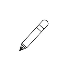 pen edit icon vector image vector image