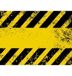 hazard stripes vector image