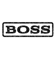 Boss watermark stamp vector