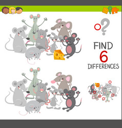 Differences game with mice vector