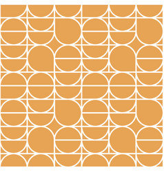 geometry minimalistic seamless pattern poster with vector image