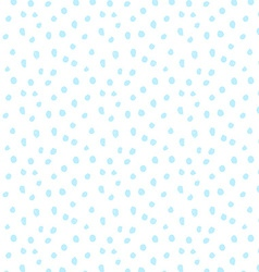 Hand drawn dots snow seamless pattern vector image vector image