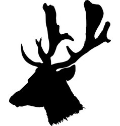 Head of deer vector