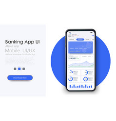 Online payment or credit cards app ui ux gui vector