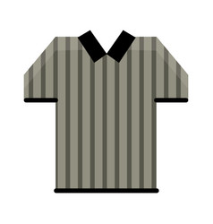 Referee jersey stripes american football vector