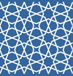 seamless ethnic grating ornament - arabian pattern vector image vector image
