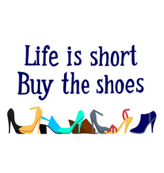 shoes frame vector image vector image