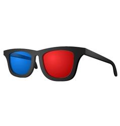 color glasses vector image