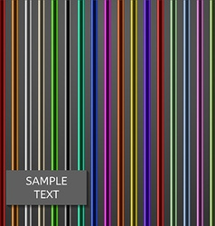 Colorful Vertical Rods Background vector image