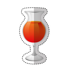 Cup drink beverage icon vector