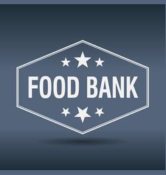 Food bank vector