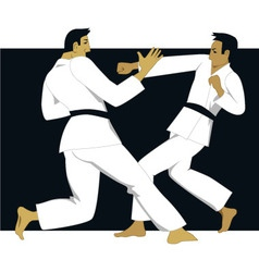 Jujutsu vector image
