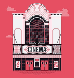 Movie Theatre Icon vector image
